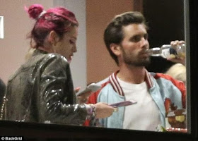 Scott Disick parties with Bella Thorne