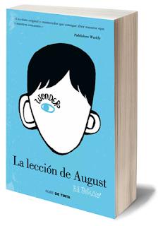 Reseña de La leccion de August - R. J. Palacio