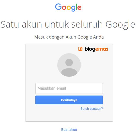 Cara Mengganti Login Google Menjadi Bahasa Indonesia