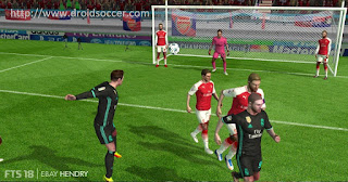 First Touch Soccer 2018 HD by Ebay Hendry Apk + Data Obb Android