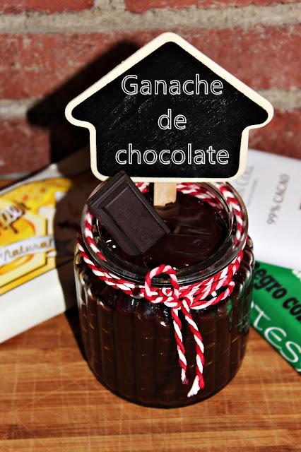 GANACHE DE CHOCOLATE PARA CUBRIR TARTAS DE FONDANT