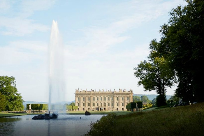 Chatsworth House y la Fuente del Emperador