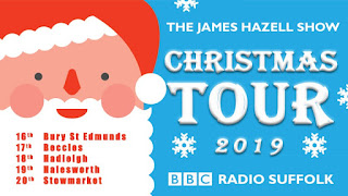 James Hazel's Chrismas Tour 2019