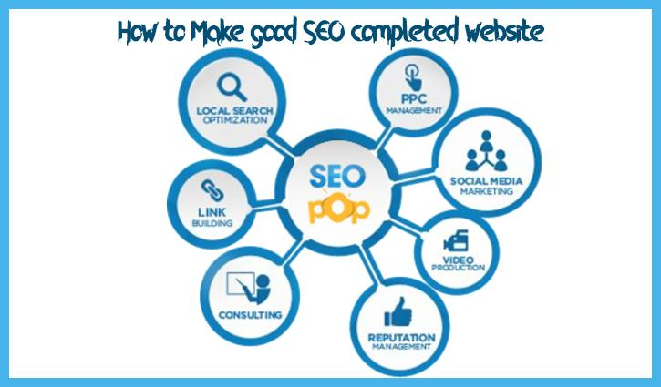 How-to-Make-good-SEO-completed-website