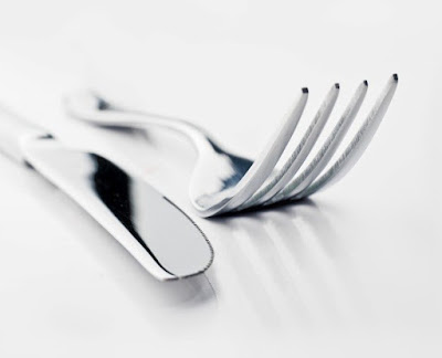 Steel utensils - fork
