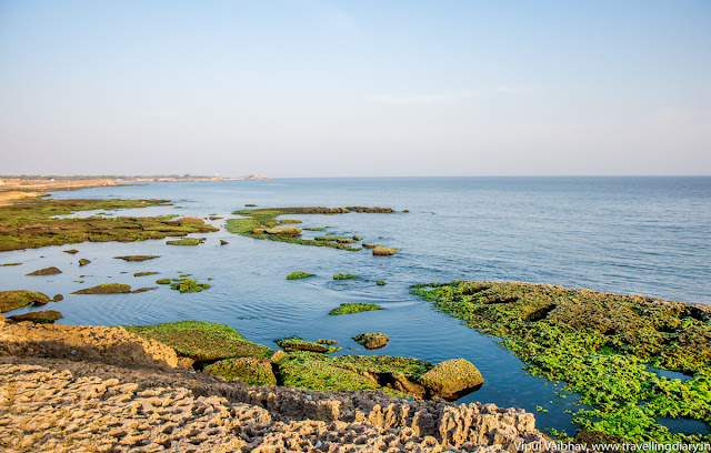 View from Gangeshwar Temple, Diu