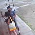 Captan el robo de un celular a una joven en Estelí