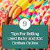9 Tips For Selling Used Baby and Kid Clothes Online