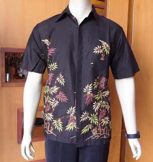 Style baju batik gaul untuk pria