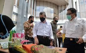 Setiap Kamis, 32 Pelaku UMKM di Riau Gelar Pasar Offline di Kantor OPD