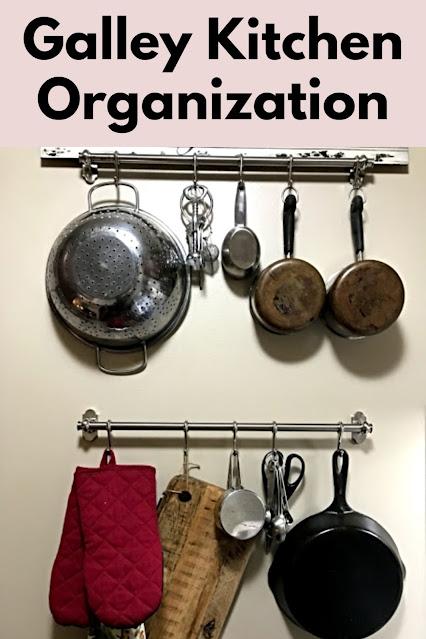 galley kitchen organization