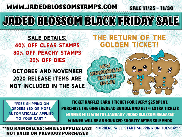 Jaded Blossom Gingerbread Release Day 2!