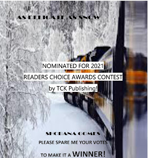 As Delicate As Snow - Please vote to make it a winner! Romance Category, Page 7. Press on the title.