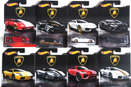 Hot Wheels Lamborghini Series 2017