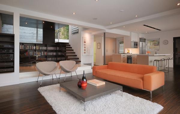 Dekorasi Ruang Tamu Modern Konsep Terbuka Inspirasi