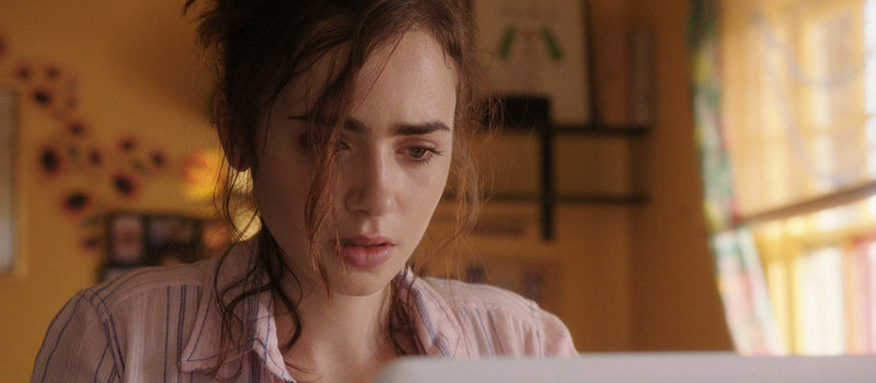 lily collins love rosie