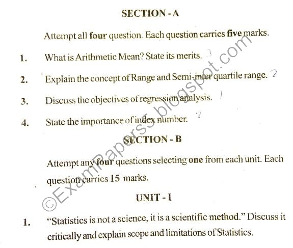 2018 - Previous Year Question Papers