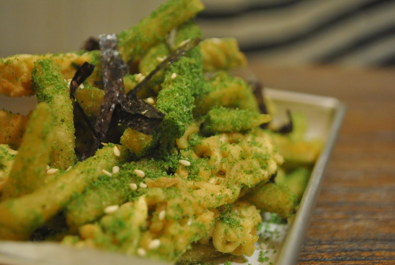 Sinsa Ramyun Kemang : Kuning-kuning Gemay - Ramen Fries Seaweed