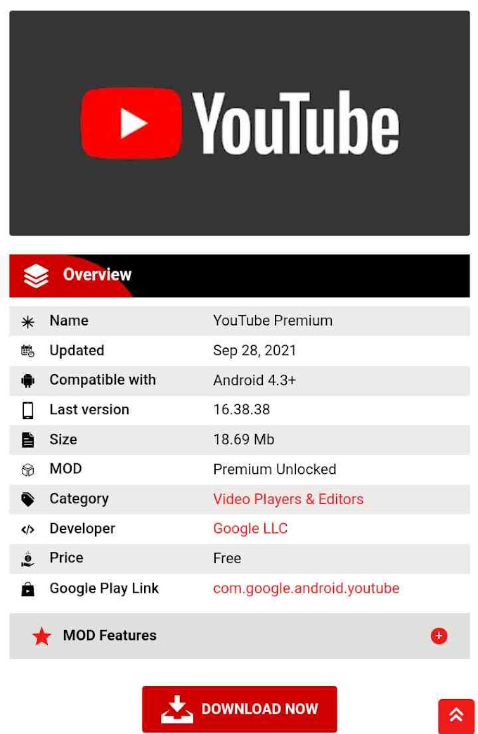 Download YouTube Premium for Free + All YouTube Cracked Versions for Free