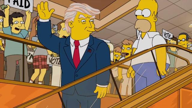 The Simpsons and Time Travel : Is Matt Groening a Time Traveler ?!  Trump%2BSimpsons%2BMatt%2BGroening%2BTime%2BTraveler