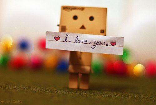 Cute I Love You Image