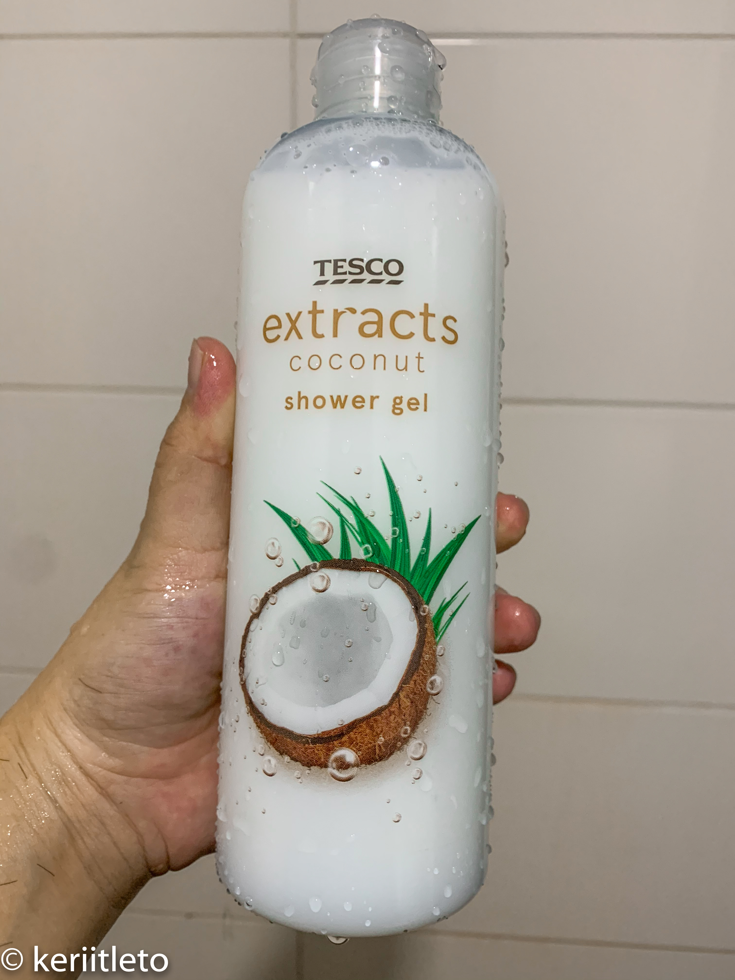 Tesco shower gel review