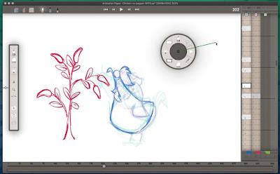 Animation Paper V5.0 Alpha 2 Pre-release UI