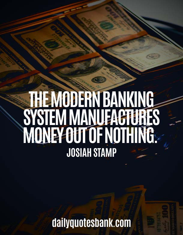 Famous Best Bank Quotes On Banking System