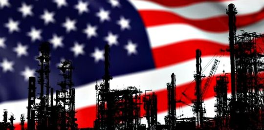 The number of oil drilling rigs in the USA increased