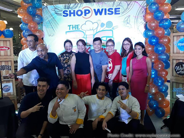 All-Around Pinay Mama Blog, Shopwise The Big Cook-Off Asian Fusion, Shopwise Araneta-Cubao, Steven Silva, Chef JP Anglo, Cooking Contest, SJ Valdez