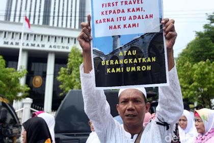 Menunggu Keadilan untuk Jamaah Umrah First Travel