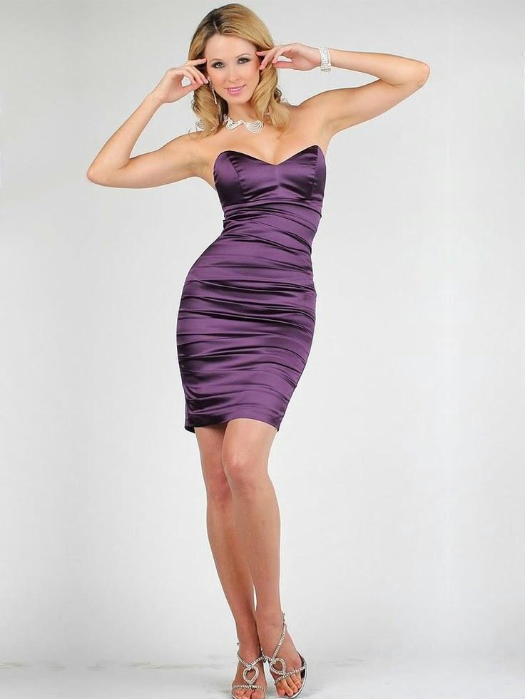 Makeit moda que combina con un vestido morado - Colores que combinan con lila ...