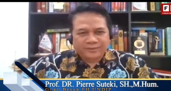 Prof Suteki: Guru Besar tetapi Kok Otaknya Kecil?