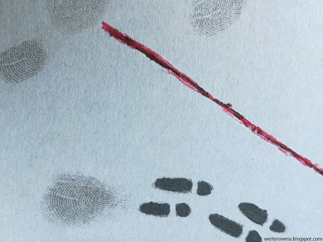 ślady i odciski palców