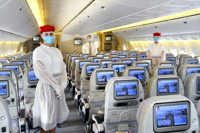 An Emirates Flight from Dubai to Hong Kong Had at Least 26 Passengers With COVID-19 According to Health Officials