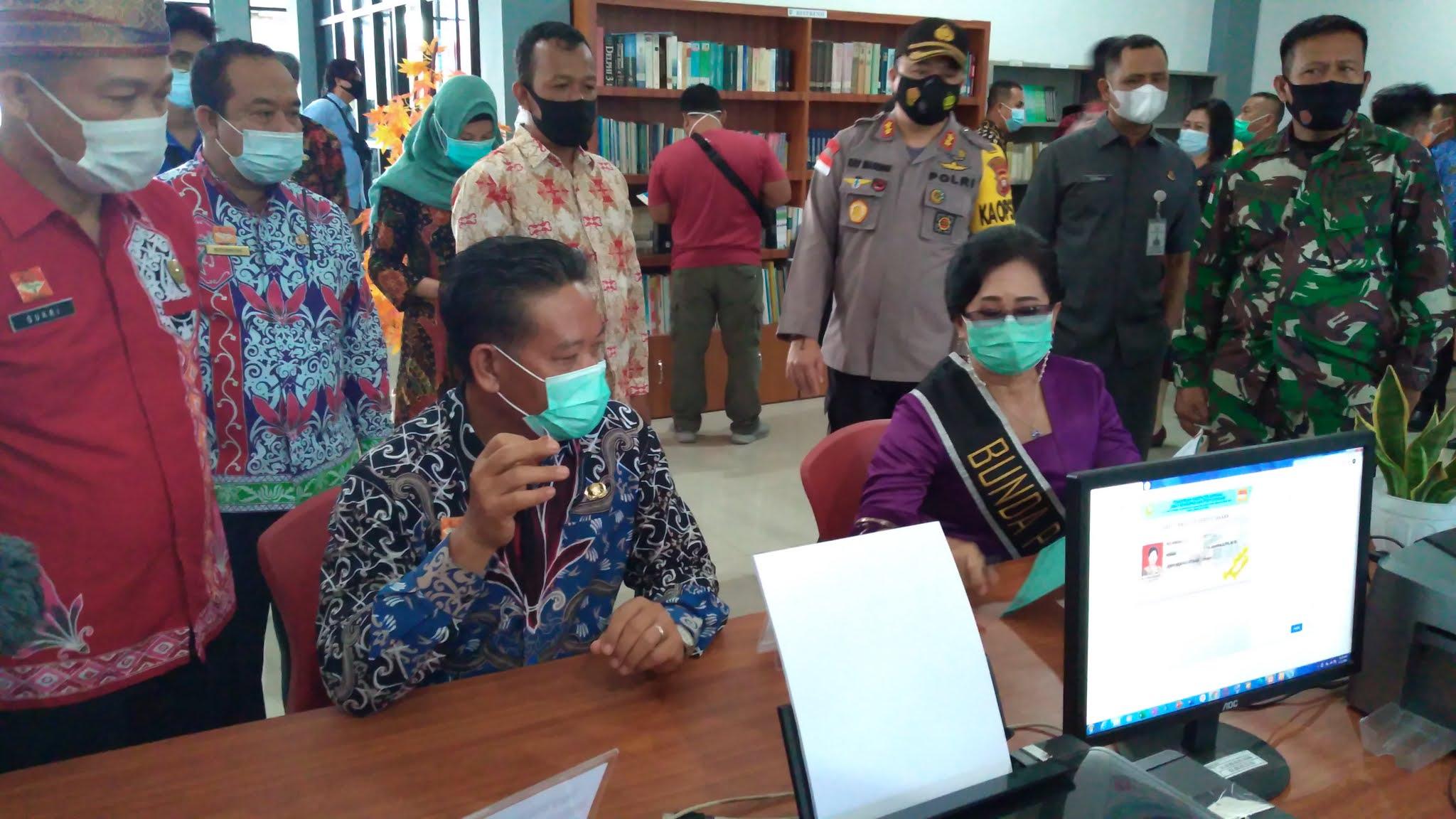 Pperesmian Perpustakaan Daerah Sanggau oleh PHYO (:Lengkap dari A-Z)