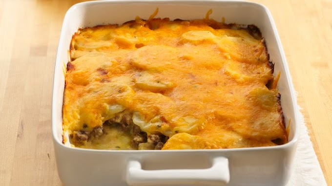 Ground Beef Casserole with Potatoes