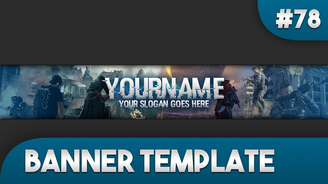 making a banner for youtube