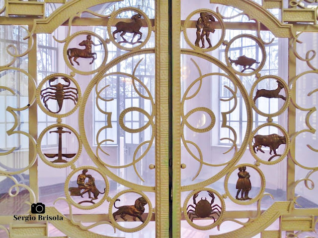 Palacete Violeta (Porta do Zodíaco - detalhes)