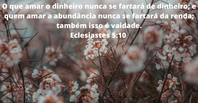 17 Versículos da Bíblia sobre Ganância