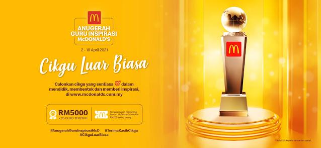 Anugerah Guru Inspirasi McDonald's 2021