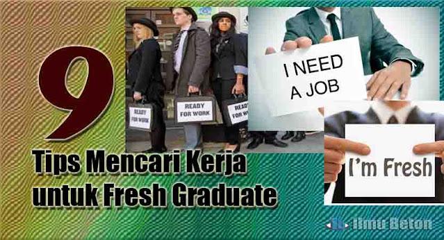 9 Tips Mencari Kerja untuk Fresh Graduate