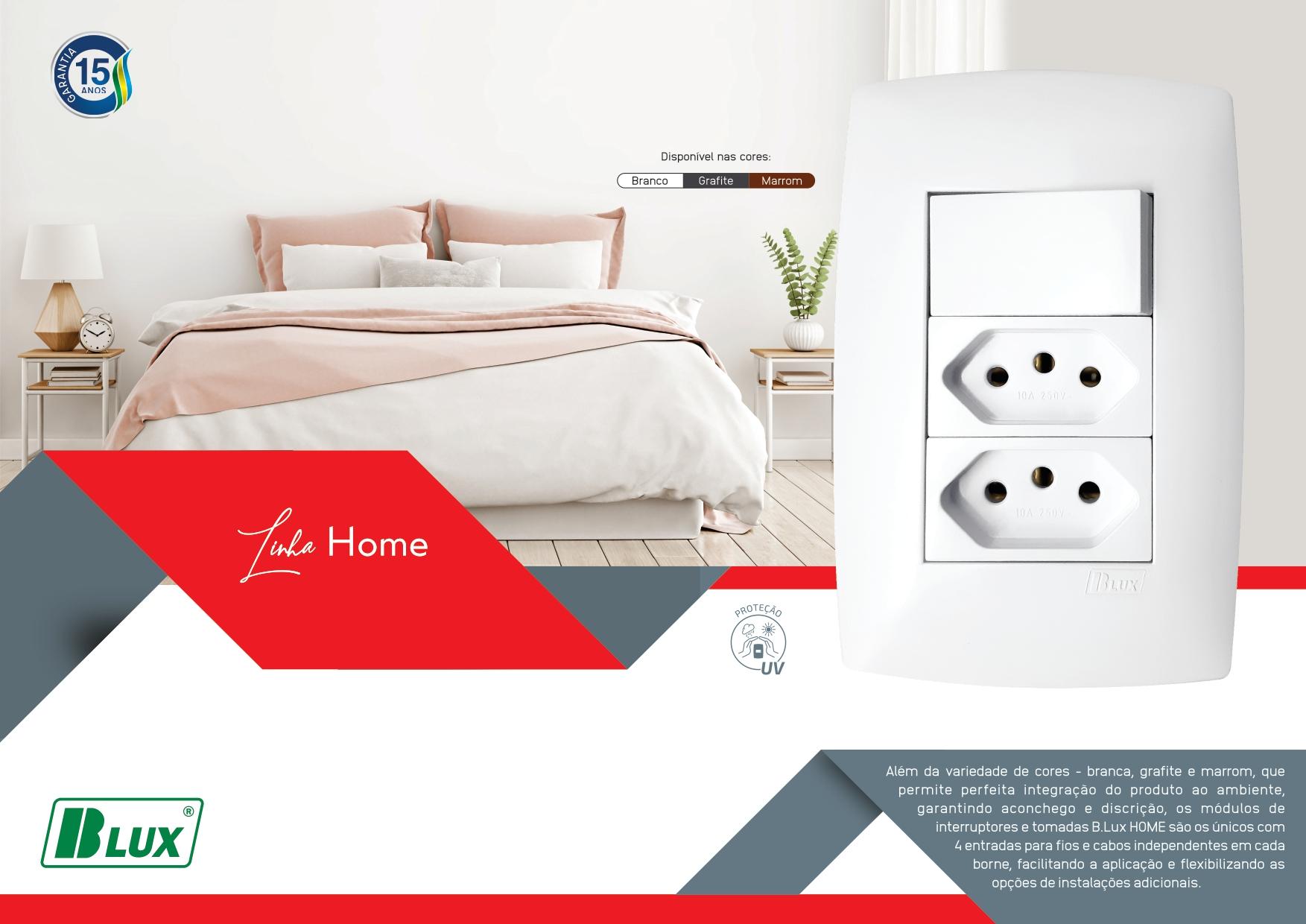 B.Lux Home - Tomadas e Interruptores