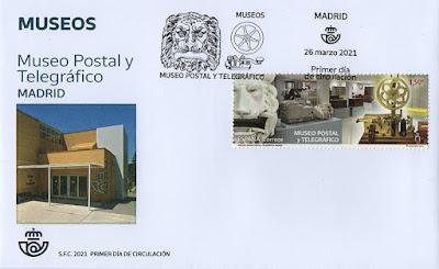 sobre, PDC, sello, Museo, Postal, Telegráfico