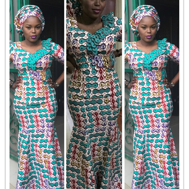 8511400ee2c2c7 20 Ankara Skirt and Blouse Styles You Should Try - Beautiful Nigeria