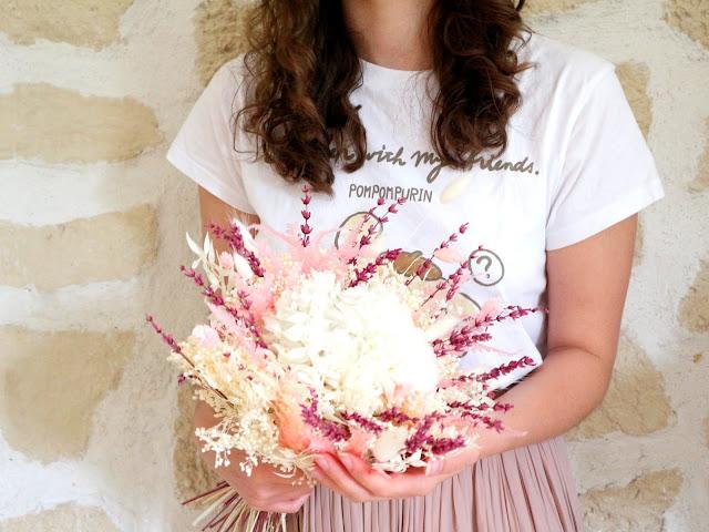 Pour la fête des mères, optez pour un bouquet de fleurs séchées !