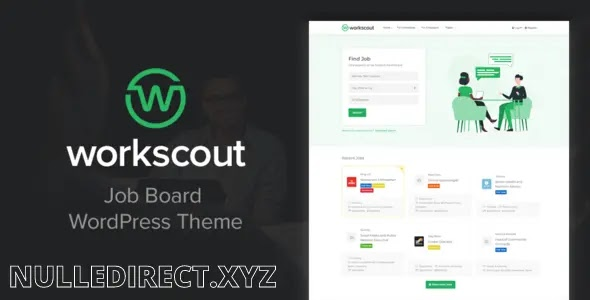 WorkScout Nulled - Job Board WordPress Theme V 2.0.34