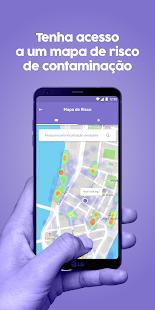 Dycovid: tenha acesso ao mapa de risco de contaminação