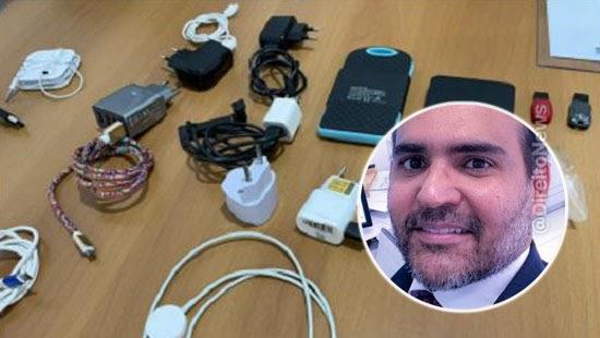 juiz preso arsenal eletronico crer impunidade