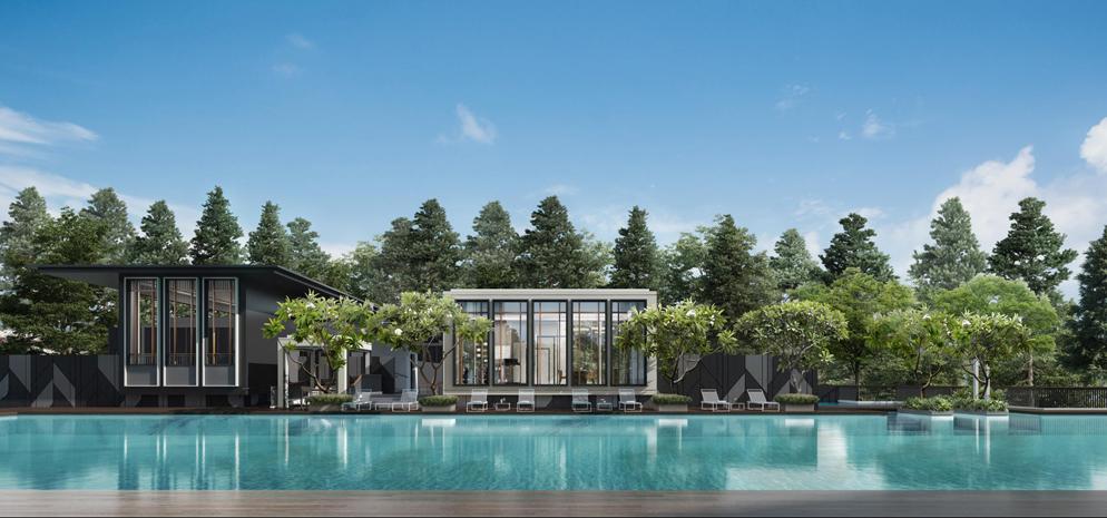 Mayfair Modern - 50m Lap Pool
